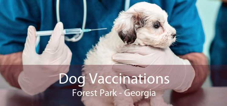 Dog Vaccinations Forest Park - Georgia