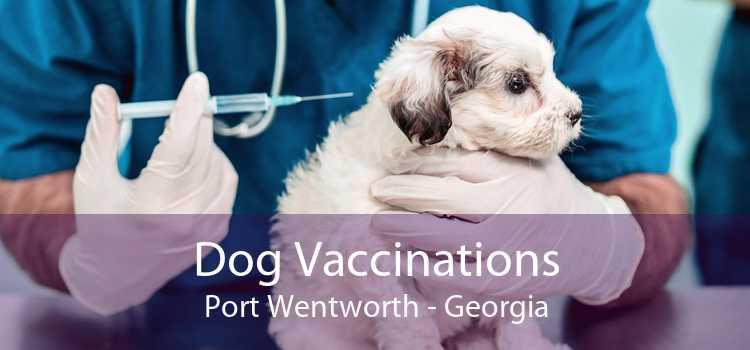 Dog Vaccinations Port Wentworth - Georgia