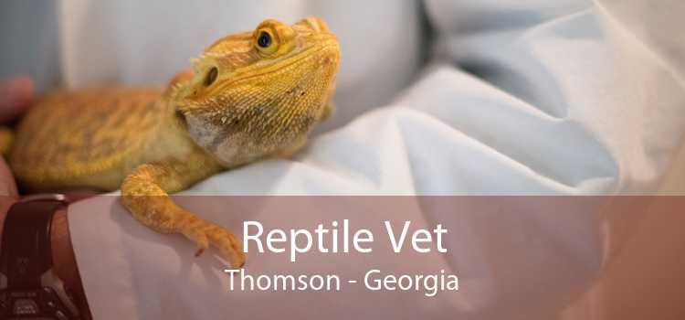 Reptile Vet Thomson - Georgia